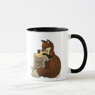 Pancake Fox Mug