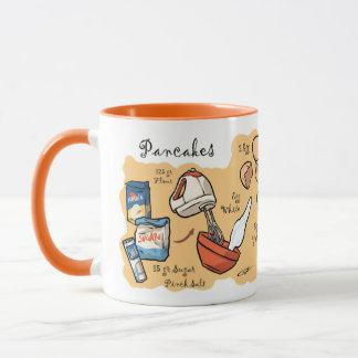 Pancake Recipe Mug