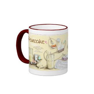 Pancake Recipe Ringer Mug