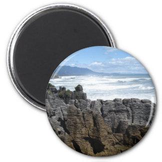 Pancake Rocks, New Zealand Magnet
