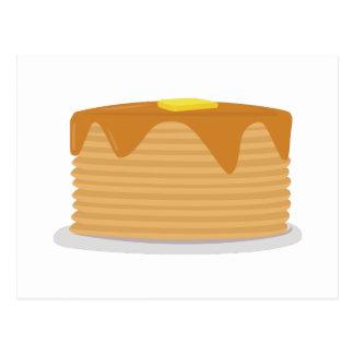 Pancake Stack Postcard