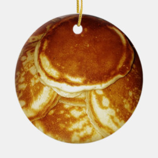 Pancakes Ceramic Ornament