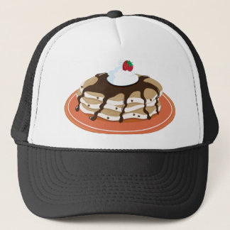 Pancakes Chocolate Trucker Hat