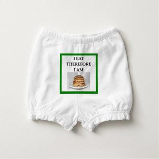 pancakes diaper cover