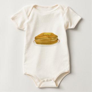 Pancakes Drawing Baby Bodysuit