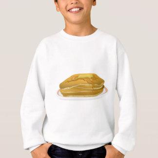 Pancakes Drawing Sweatshirt