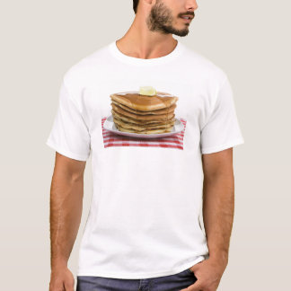 Pancakes Flap Jacks Maple Syrup Butter Worth T T-Shirt