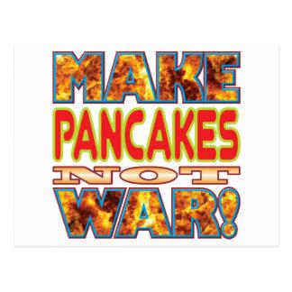 Pancakes Make X Postcard