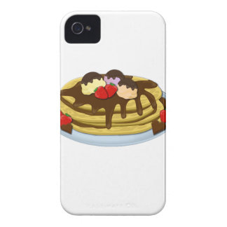 Pancakes - Shrove tuesday Case-Mate iPhone 4 Cases