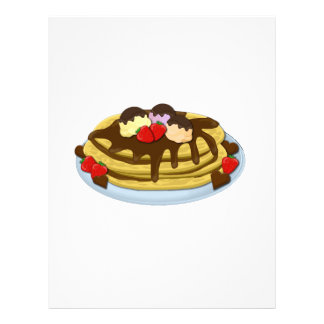 Pancakes - Shrove tuesday Personalized Letterhead