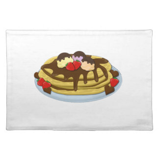 Pancakes - Shrove tuesday Placemat