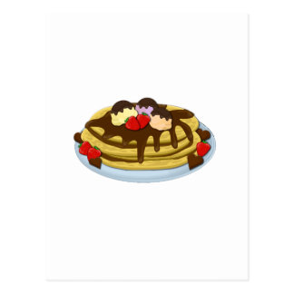 Pancakes - Shrove tuesday Postcard