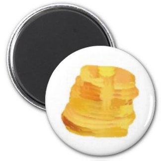 pancakesB 2 Inch Round Magnet