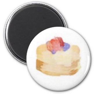 pancakesC 2 Inch Round Magnet