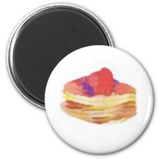 pancakesE 2 Inch Round Magnet