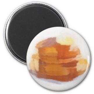 pancakesG 2 Inch Round Magnet