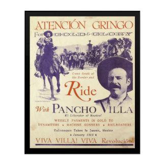 Pancho Villa Mexican Hero General Acrylic Print