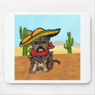 Pancho Yorkie Poo Mouse Pad