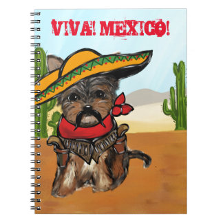Pancho Yorkie Poo Notebook
