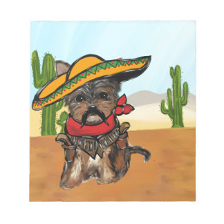 Pancho Yorkie Poo Notepad