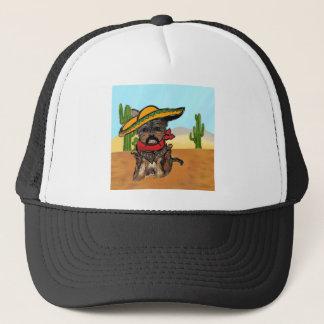 Pancho Yorkie Poo Trucker Hat