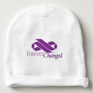 Pancreatic Cancer Awareness cotton baby beanie