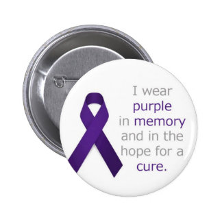 Pancreatic Cancer Badge 2 Inch Round Button