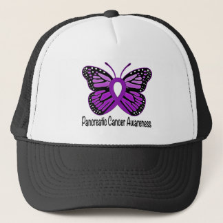 Pancreatic Cancer Butterfly of Hope Trucker Hat