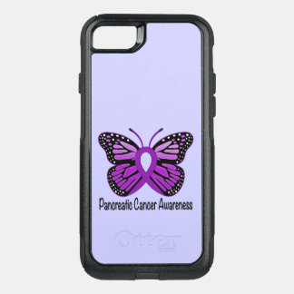 Pancreatic Cancer Butterfly OtterBox Commuter iPhone 7 Case