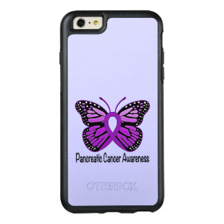 Pancreatic Cancer Butterfly OtterBox iPhone 6/6s Plus Case