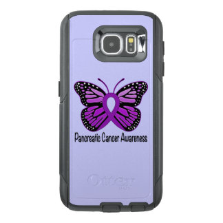 Pancreatic Cancer Butterfly OtterBox Samsung Galaxy S6 Case