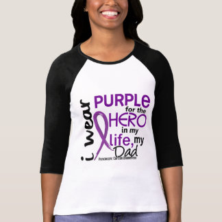Pancreatic Cancer For My Hero My Dad 2 T-Shirt