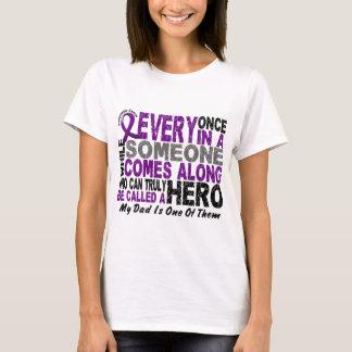 Pancreatic Cancer HERO COMES ALONG 1 Dad T-Shirt