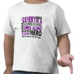 Pancreatic Cancer HERO COMES ALONG 1 Grandpa Shirts