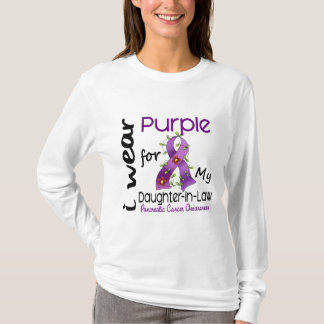 Pancreatic Cancer I Wear Purple For My Daughter-In T-Shirt