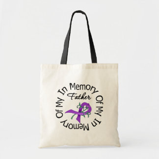 Pancreatic Cancer In Memory of My Father Budget Tote Bag