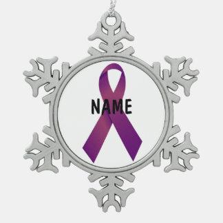 Pancreatic Cancer Memorial Ornament