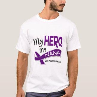 Pancreatic Cancer MY HERO MY NANA 42 T-Shirt