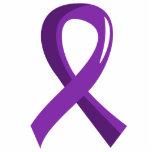 Pancreatic Cancer Purple Ribbon 3