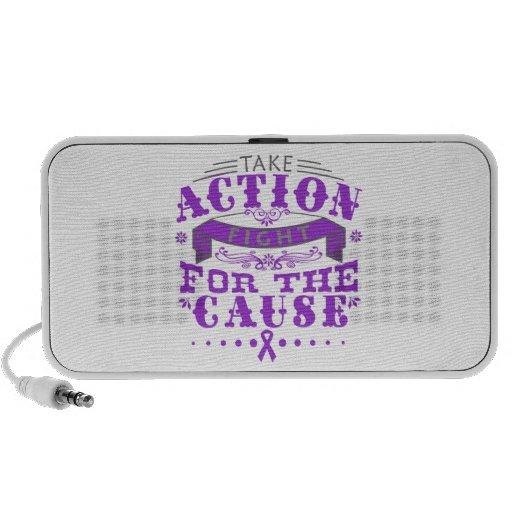 Pancreatitis Take Action Fight For The Cause Mini Speaker