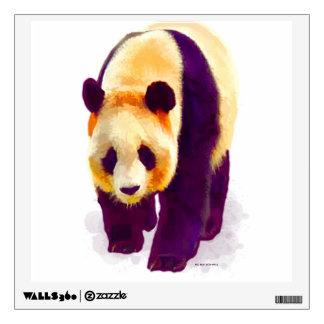Panda 3 wall decal