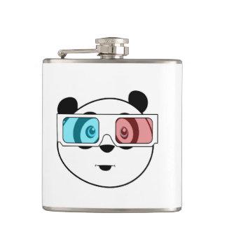Panda - 3D Glasses Flasks