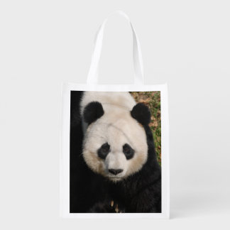 panda-92 reusable grocery bag