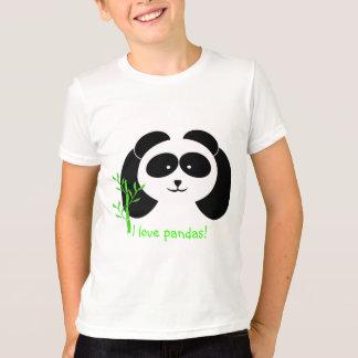 Panda and Bamboo T-Shirt