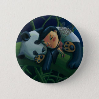 Panda and Fairy 2 Inch Round Button