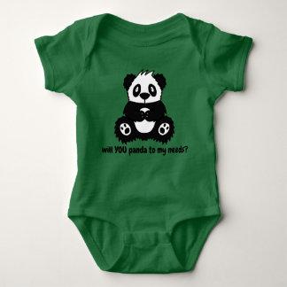 Panda Baby Boy or Girl Bodysuit