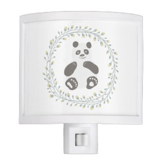 Panda Baby Night Light Baby Nursery Decor