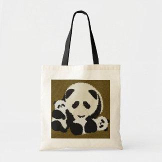 panda bag2 by J Young Tote Bag