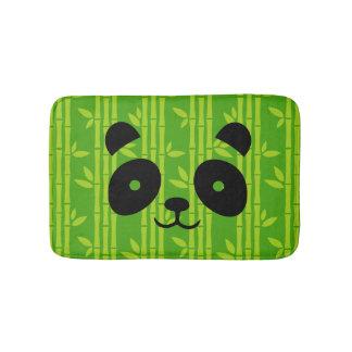 panda_bamboo bath mat