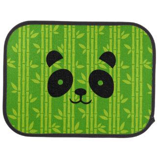 panda_bamboo car mat